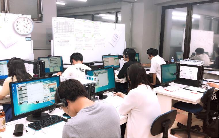 指導センターによる教育・管理で最高品質の授業を。